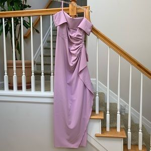Strapless Vince Camuto Formal Gown